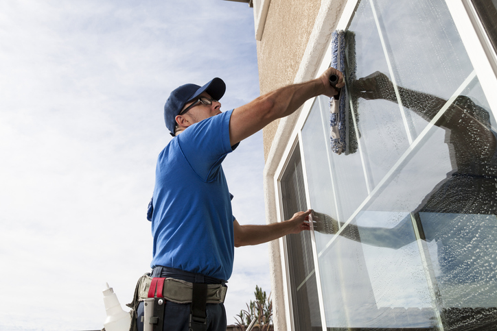 Professional window cleaning, why use a professional when I can do it myself?